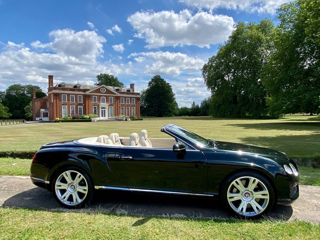 Bentley Continental Convertible 4.0 GTC V8 Auto 4WD 2dr (EU5)