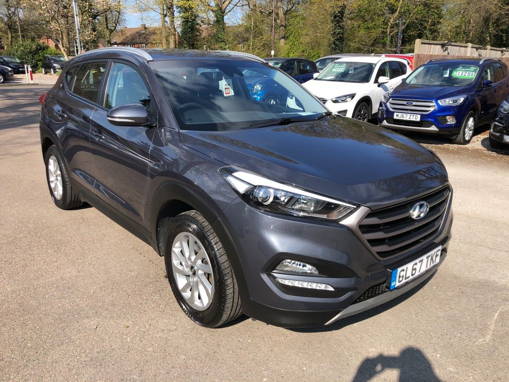 Hyundai Tucson SUV 1.7 CRDi Blue Drive SE (s/s) 5dr