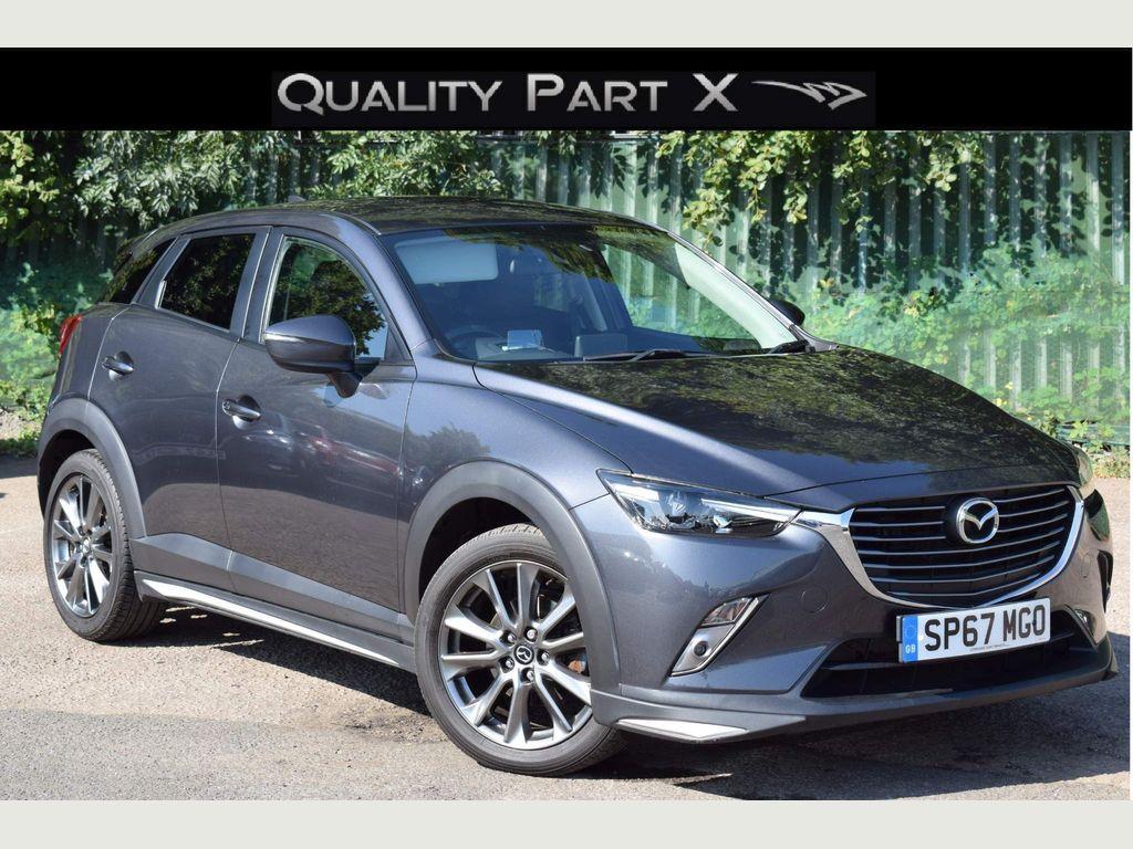 Mazda CX-3 SUV 2.0 SKYACTIV-G GT Sport (s/s) 5dr