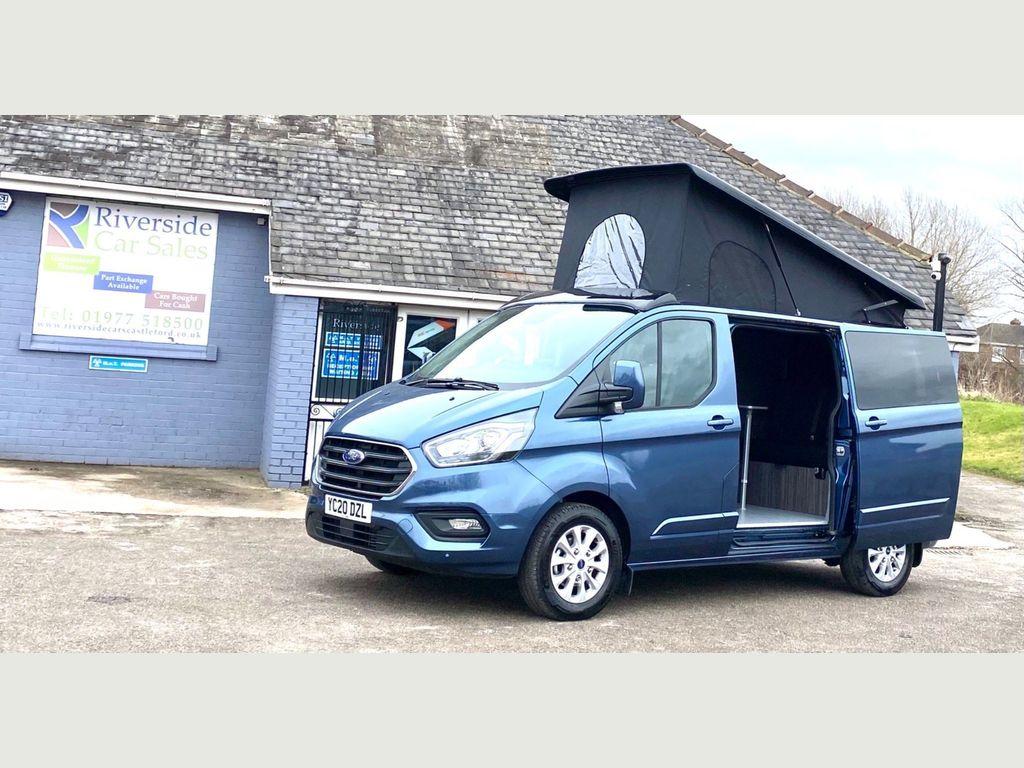 Ford Transit Custom Panel Van 2.0 300 EcoBlue Limited L1 H1 EU6 (s/s) 5dr