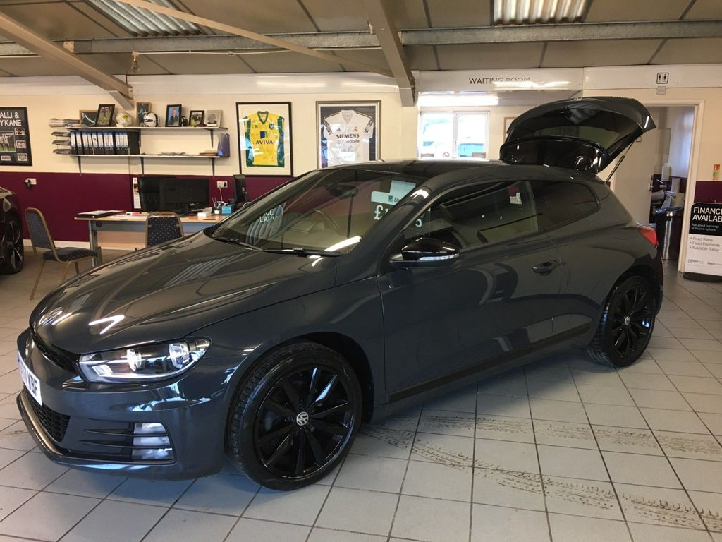 Volkswagen Scirocco Coupe 2.0 TDI BlueMotion Tech GT Black Edition Black Edition Hatchback DSG 3dr
