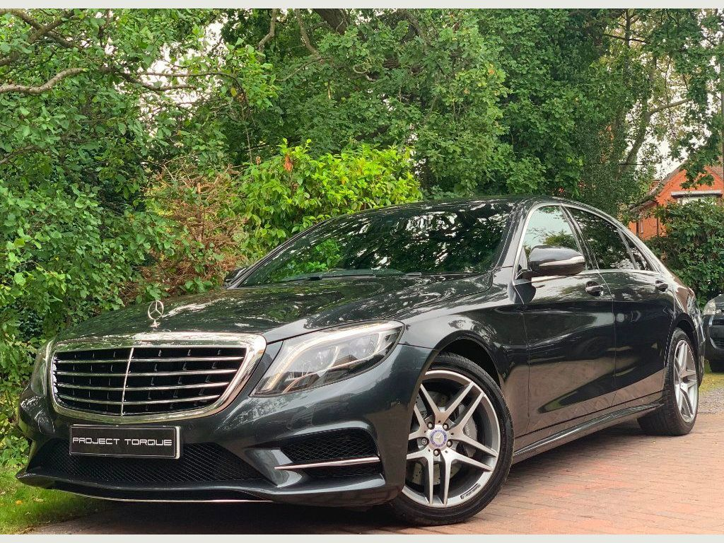 Mercedes-Benz S Class Saloon 3.5 S400h AMG Line L (Executive) 7G-Tronic Plus 4dr
