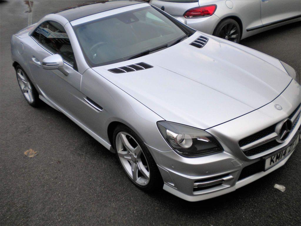 Mercedes-Benz SLK Convertible 3.5 SLK350 BlueEFFICIENCY AMG Sport 7G-Tronic Plus (s/s) 2dr