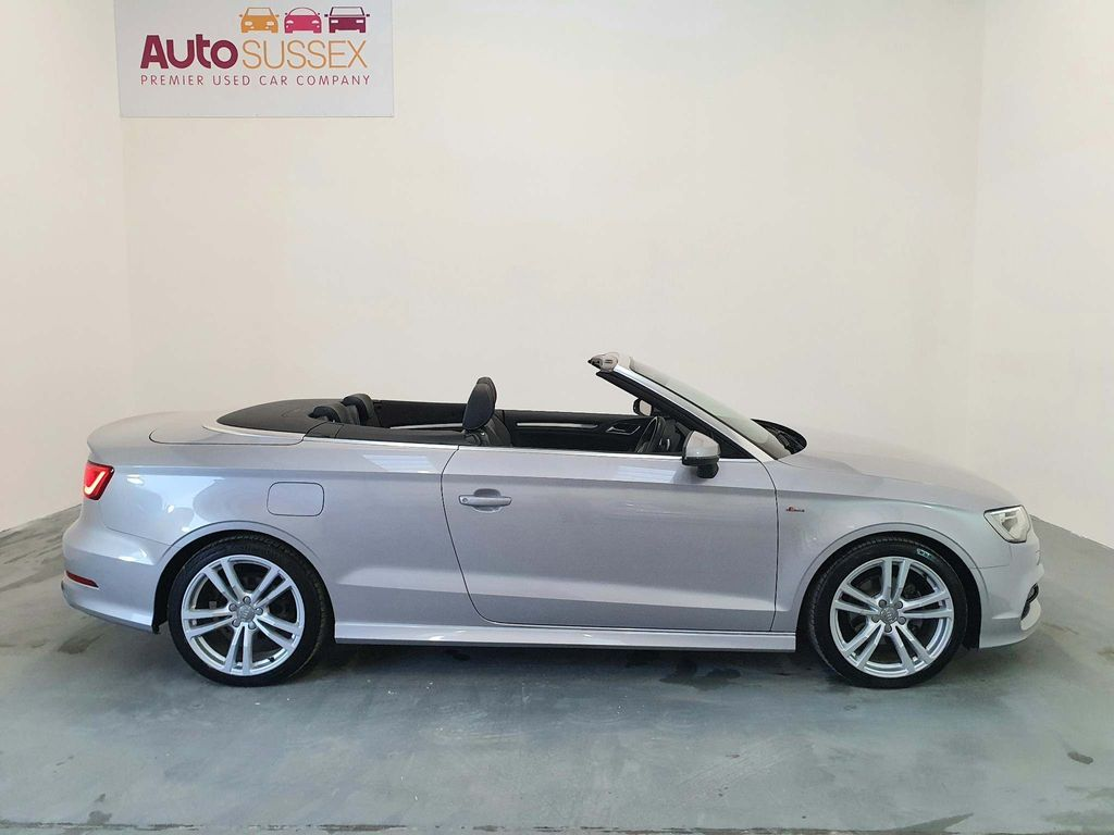 Audi A3 Cabriolet Convertible 2.0 TDI S line Cabriolet 2dr