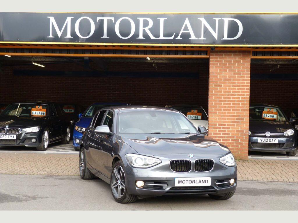 BMW 1 Series Hatchback 2.0 120d Sport Sports Hatch (s/s) 5dr