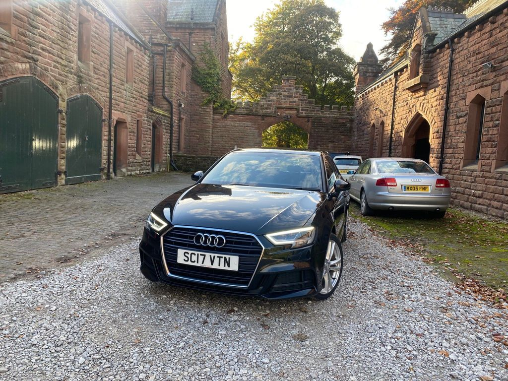 Audi A3 Hatchback 1.6 TDI S line S Tronic (s/s) 3dr