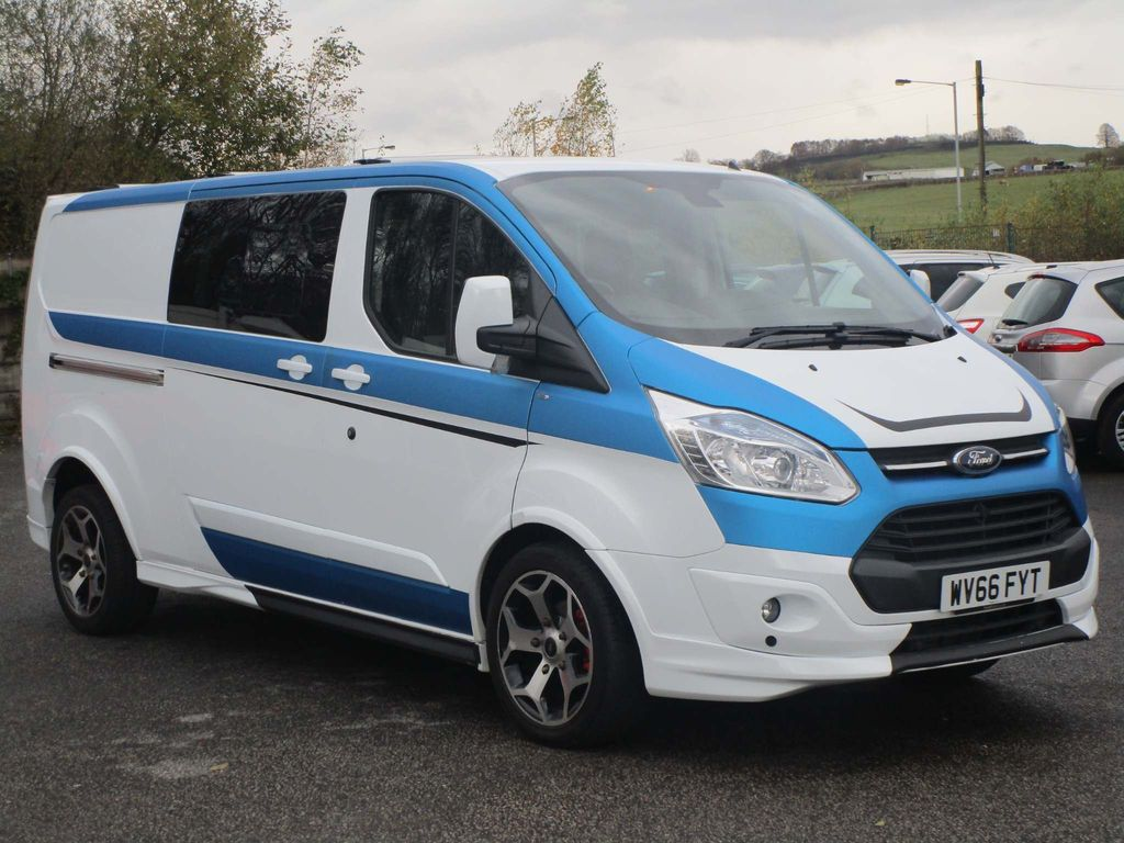 Ford Transit Custom Combi Van 2.2 ltd custom sport 290 lwb