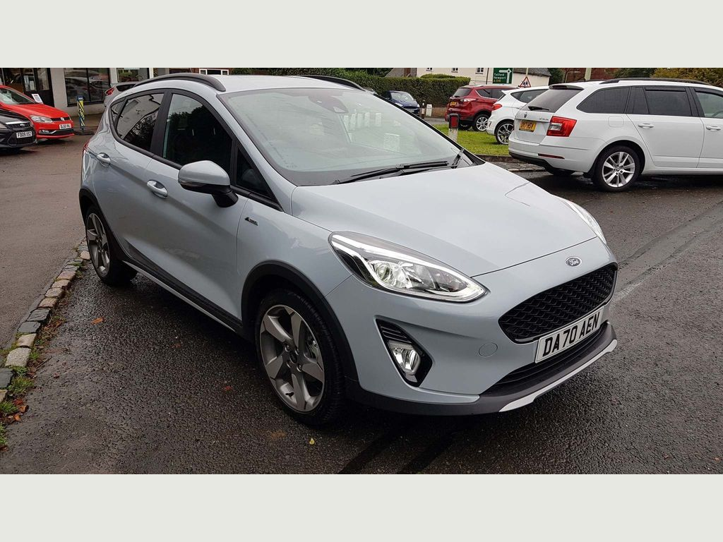 Ford Fiesta Hatchback 1.0T EcoBoost MHEV Active Edition (s/s) 5dr