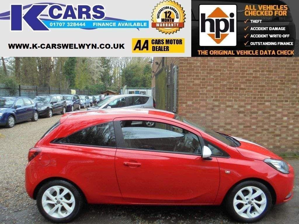 Vauxhall Corsa Hatchback 1.4i ecoFLEX Sting 3dr