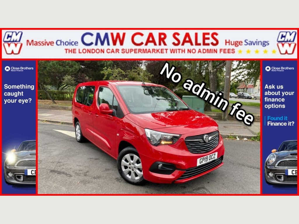 Vauxhall Combo Life MPV 1.5 Turbo D BlueInjection Energy XL MPV (s/s) 5dr (7 Seat)