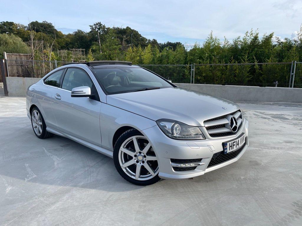 Mercedes-Benz C Class Coupe 2.1 C220 CDI AMG Sport Sport Coupe 7G-Tronic Plus 2dr
