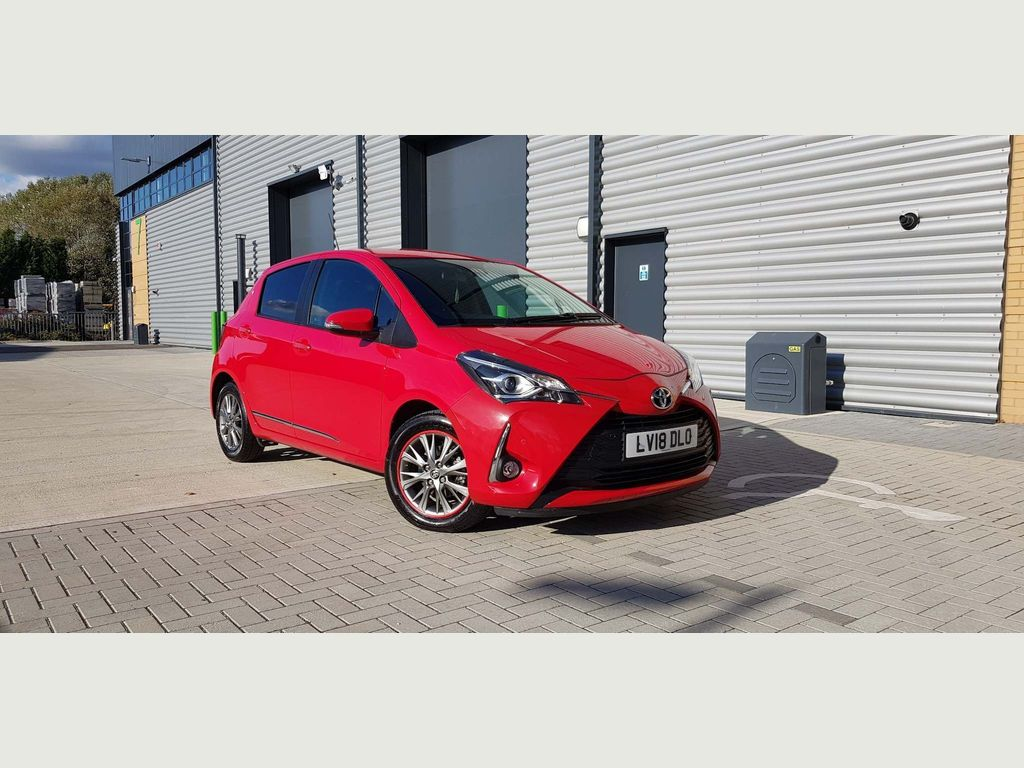 Toyota Yaris Hatchback 1.0 VVT-i Icon Tech 5dr