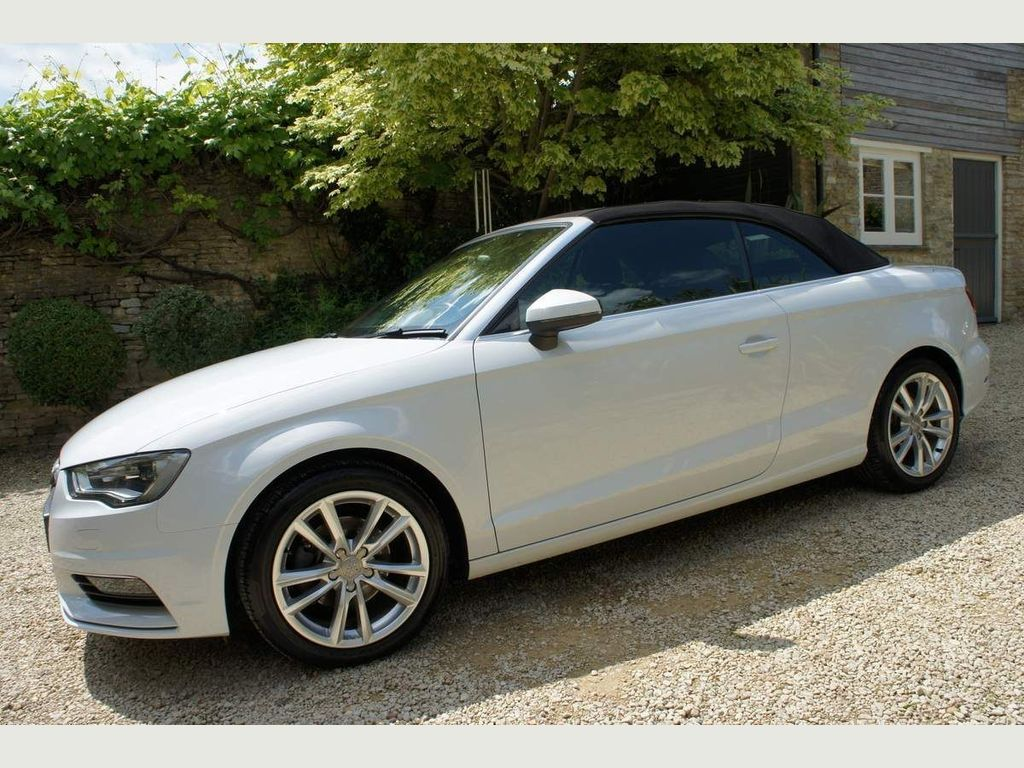 Audi A3 Cabriolet Convertible 2.0 TDI Sport Cabriolet 2dr