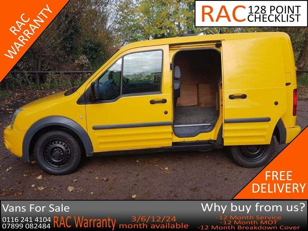 Ford Transit Connect Panel Van 1.8 TDCi T200 Trend Panel Van SWB 4dr