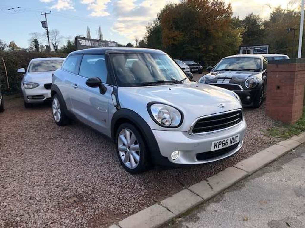 MINI Paceman Hatchback 1.6 Cooper D (Chili) ALL4 (s/s) 3dr