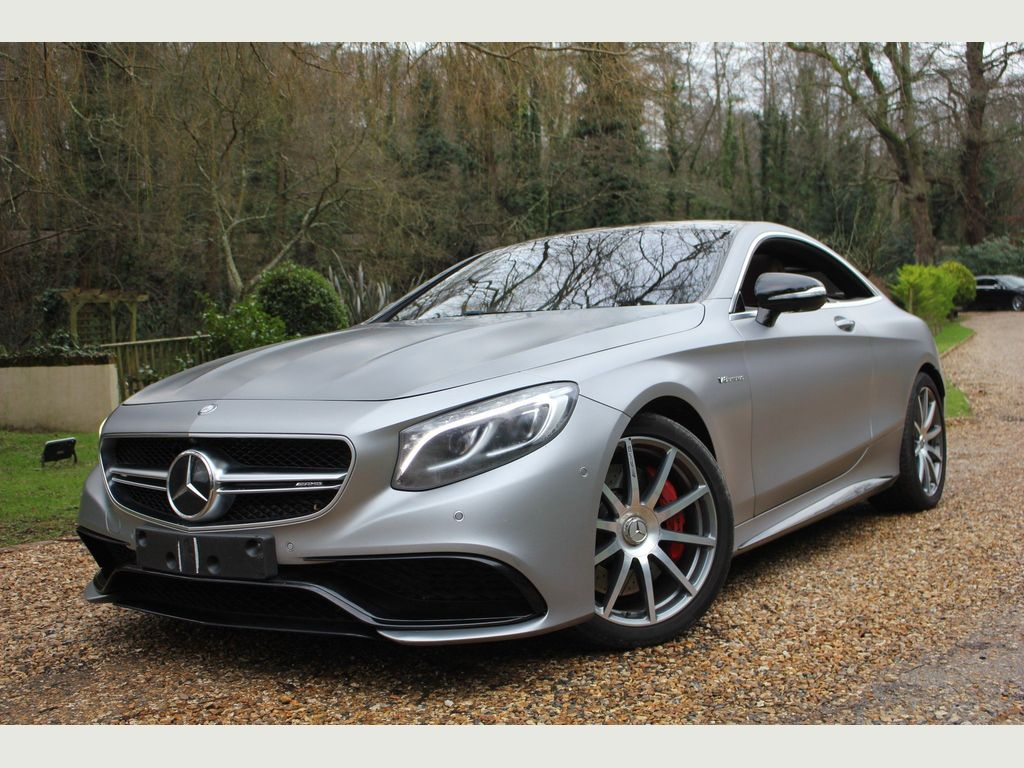 Mercedes-Benz S Class Coupe 5.5 S63 V8 AMG SpdS MCT (s/s) 2dr