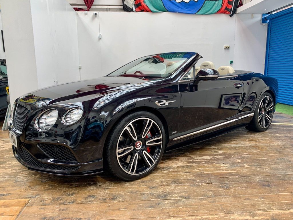 Bentley Continental Convertible 4.0 GTC V8 S Auto 4WD 2dr