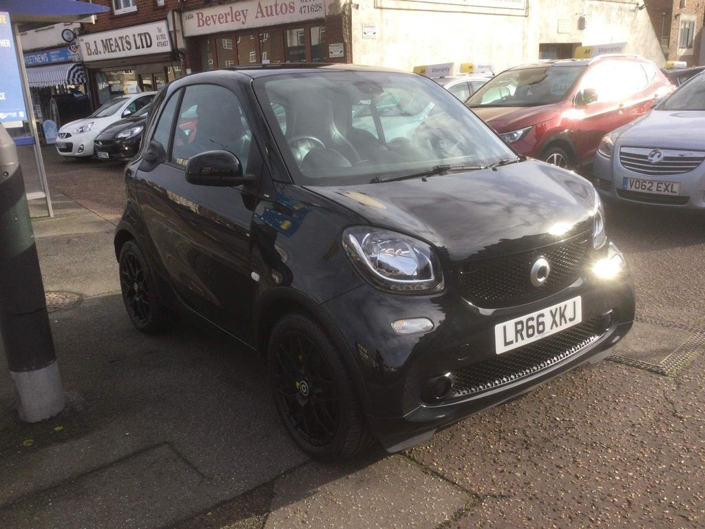 Smart fortwo Coupe 1.0 Prime Sport (Premium) (s/s) 2dr