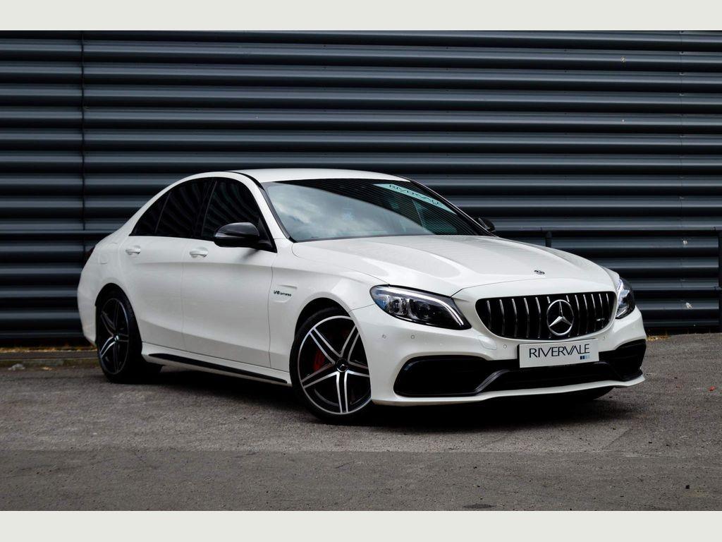 Mercedes-Benz C Class Saloon 4.0 C63 V8 BiTurbo AMG S SpdS MCT (s/s) 4dr