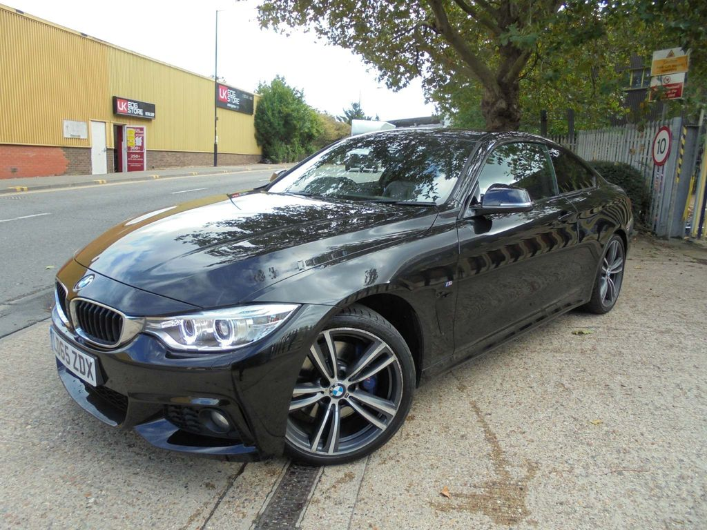 BMW 4 Series Coupe 2.0 420i M Sport Auto 2dr
