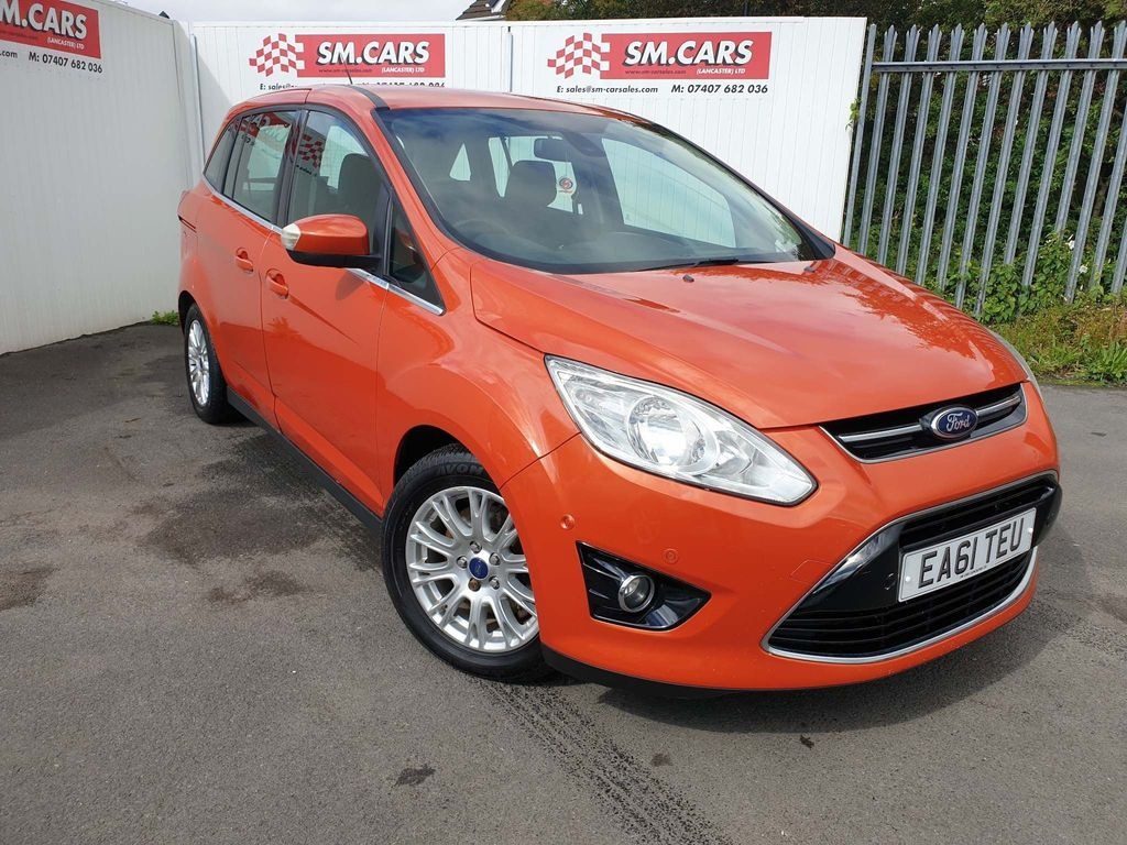 Ford Grand C-Max MPV 2.0 TDCi Titanium Powershift 5dr (7 Seats)