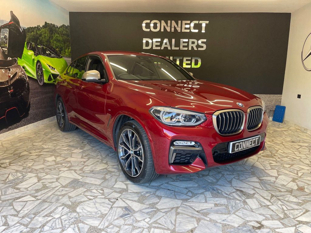 BMW X4 SUV 3.0 M40i Auto xDrive (s/s) 5dr