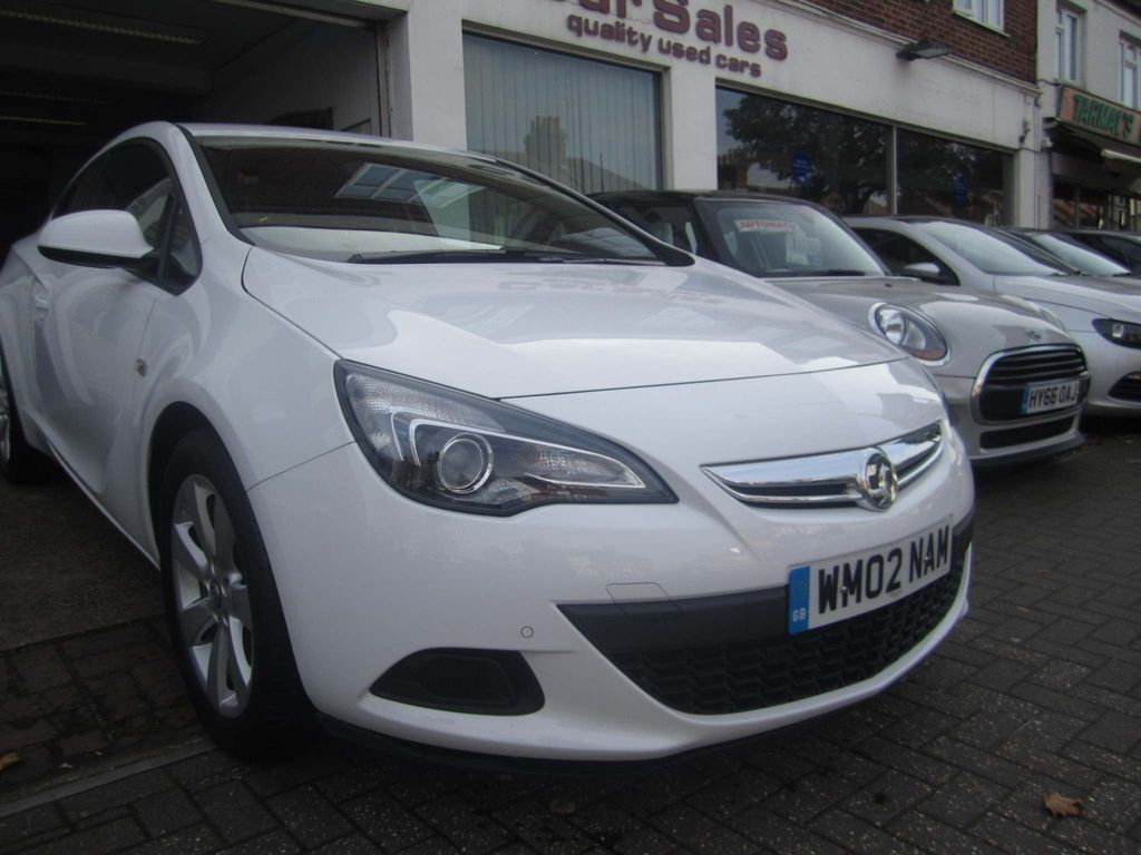 Vauxhall Astra GTC Coupe 1.4i Turbo Sport Auto 3dr