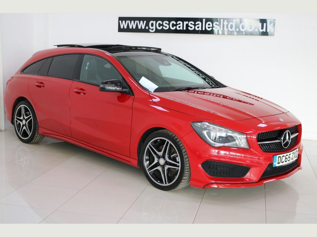 MERCEDES-BENZ CLA CLASS Estate 2.1 CLA220 AMG Sport Shooting Brake 7G-DCT 4MATIC (s/s) 5dr