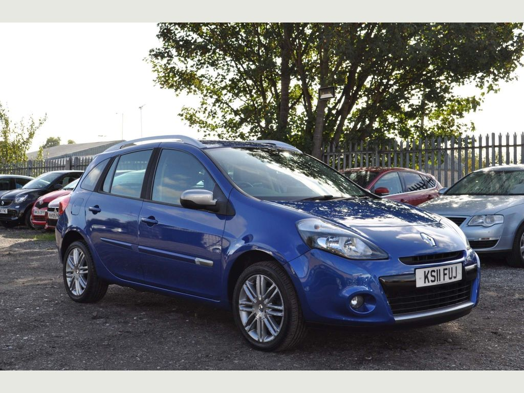 Renault Clio Estate 1.6 VVT Dynamique Sport Tourer 5dr (Tom Tom)