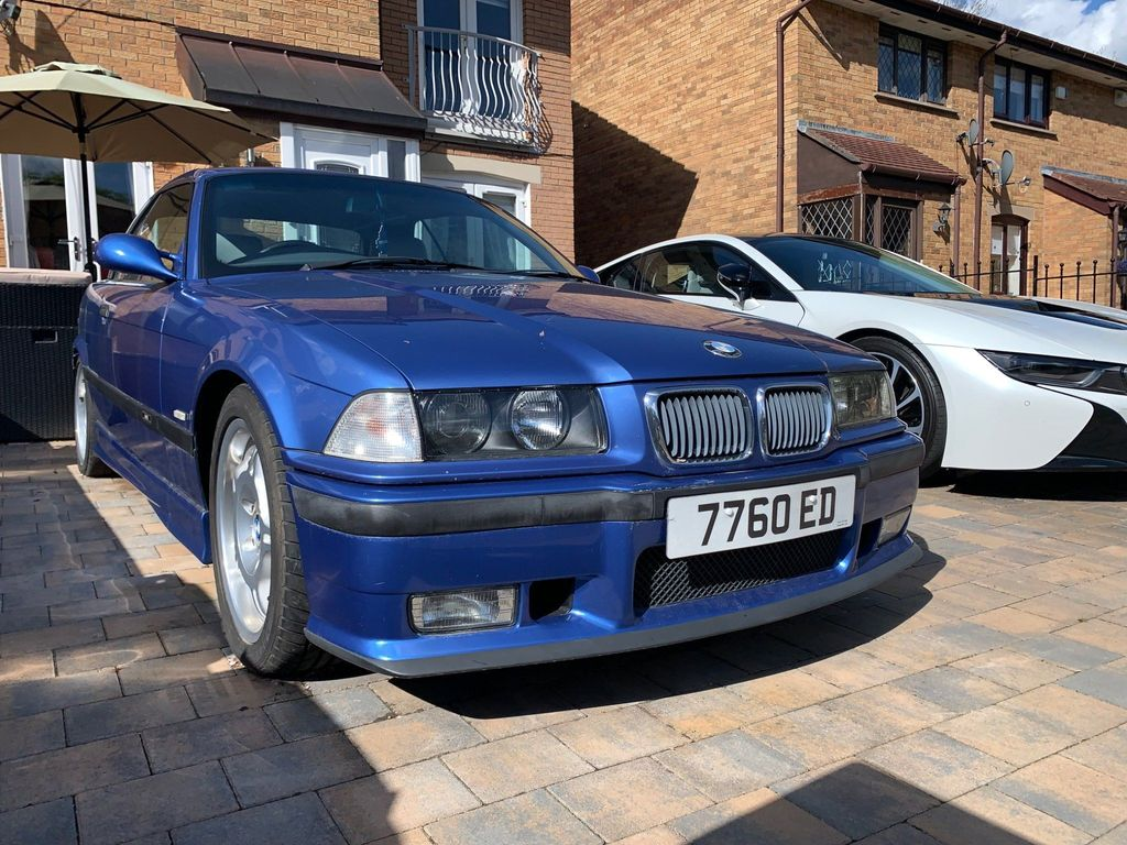 BMW M3 Convertible 3.2 Evolution 2dr