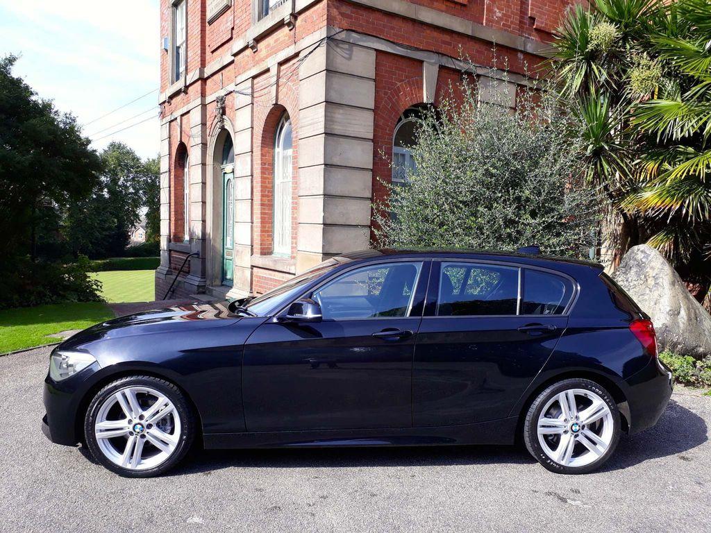 BMW 1 Series Hatchback 2.0 120d BluePerformance M Sport 5dr