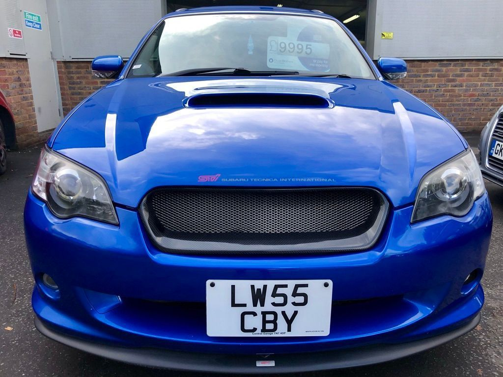 SUBARU LEGACY Estate 2.0 Turbo Spec B tuned by STI