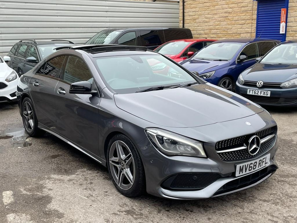 Mercedes-Benz CLA Class Coupe 1.6 CLA200 AMG Line Night Edition (Plus) 7G-DCT (s/s) 4dr