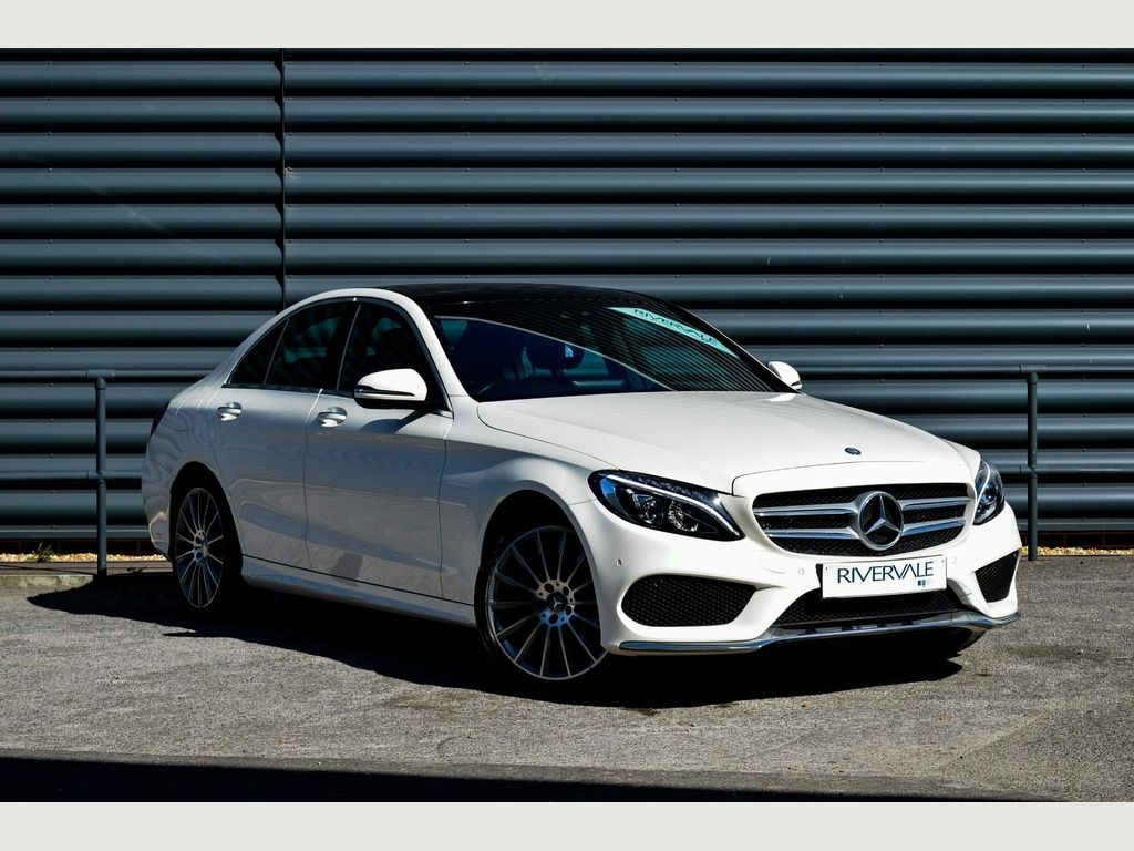 Mercedes-Benz C Class Saloon 2.1 C220d AMG Line (Premium Plus) G-Tronic+ 4MATIC (s/s) 4dr