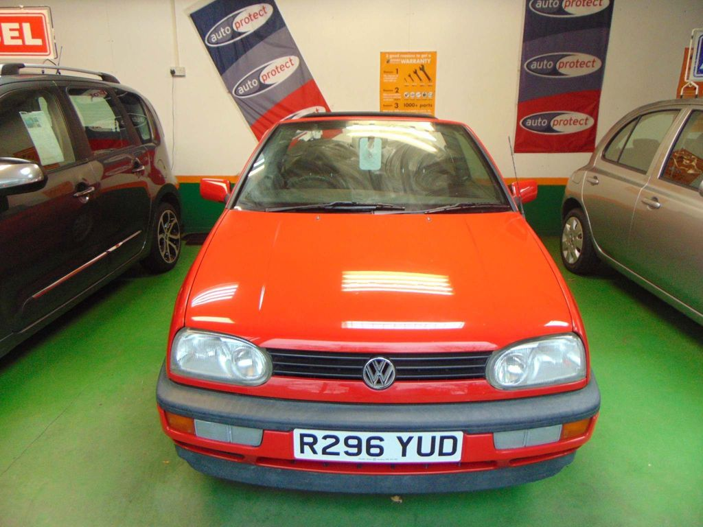 Volkswagen Golf Convertible 1.8 S 2dr