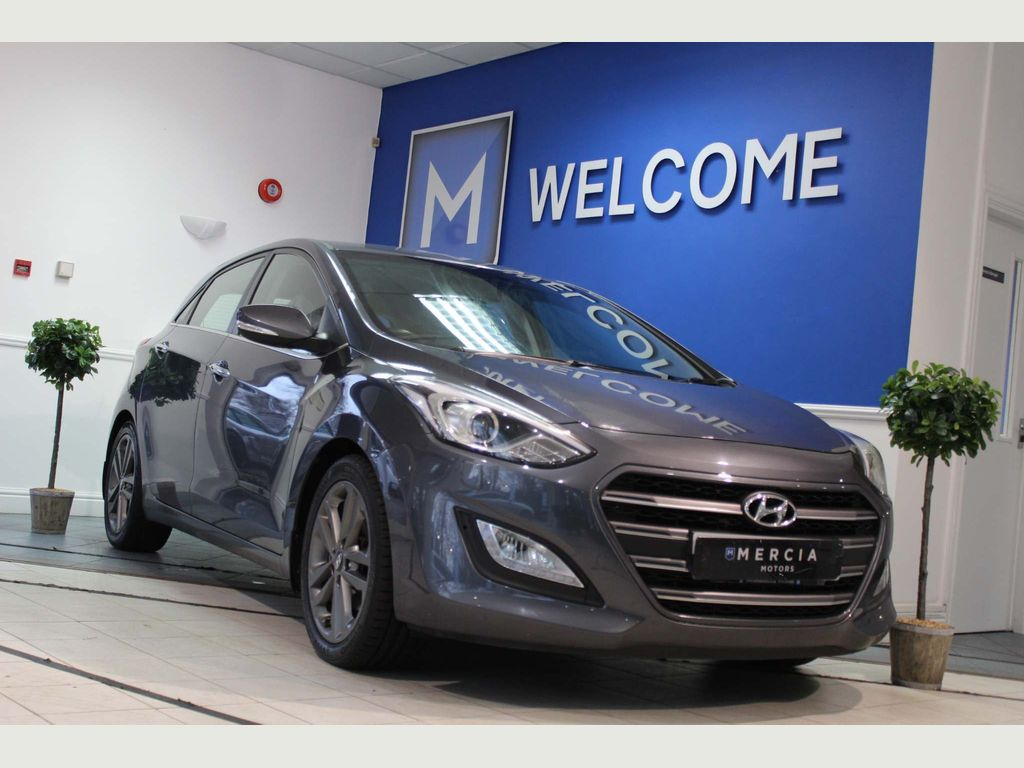 Hyundai i30 Hatchback 1.6 CRDi Blue Drive Premium 5dr