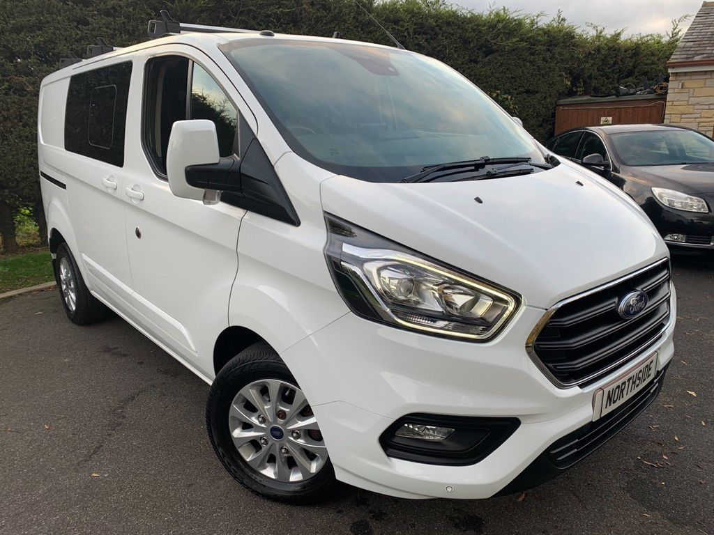 Ford Transit Custom Combi Van 2.0 300 EcoBlue Limited DCIV Auto L1 H1 EU6 (s/s) 5dr (6 Seat)