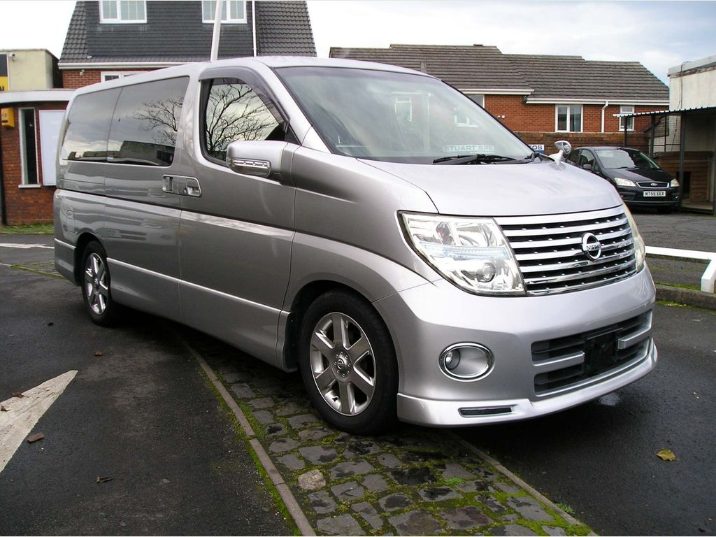 Nissan Elgrand MPV HWS Black leather edition [ reserved ]