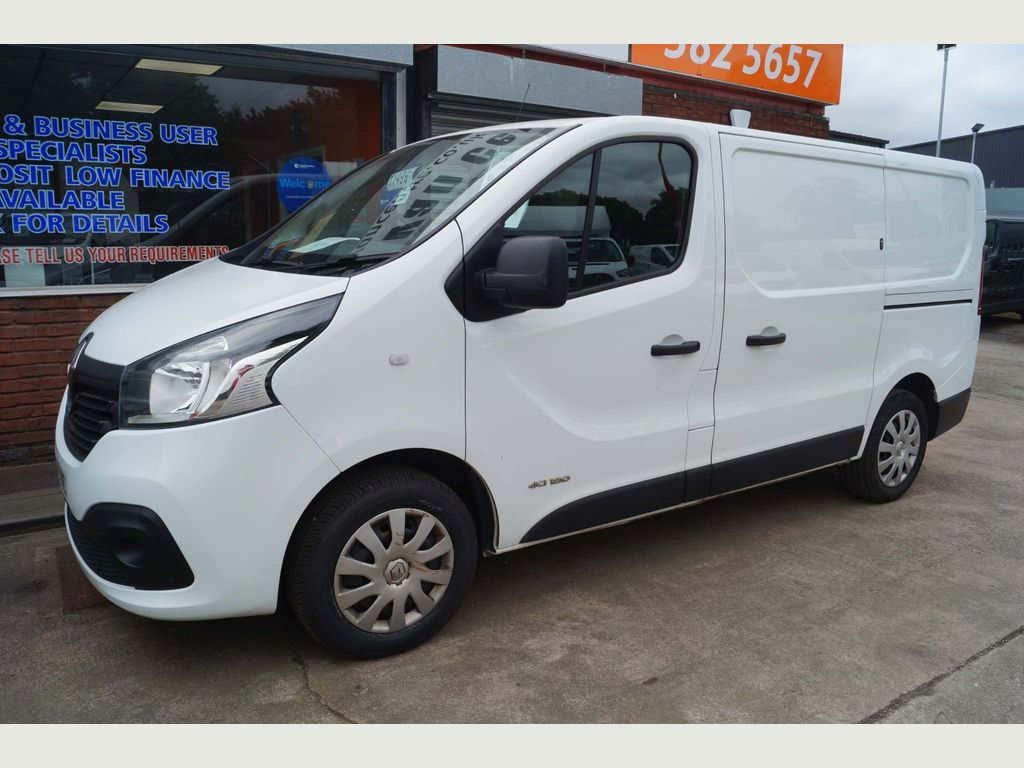 Renault Trafic Panel Van 1.6DCi 120 BUSINESS PLUS (A/CON & EURO6)