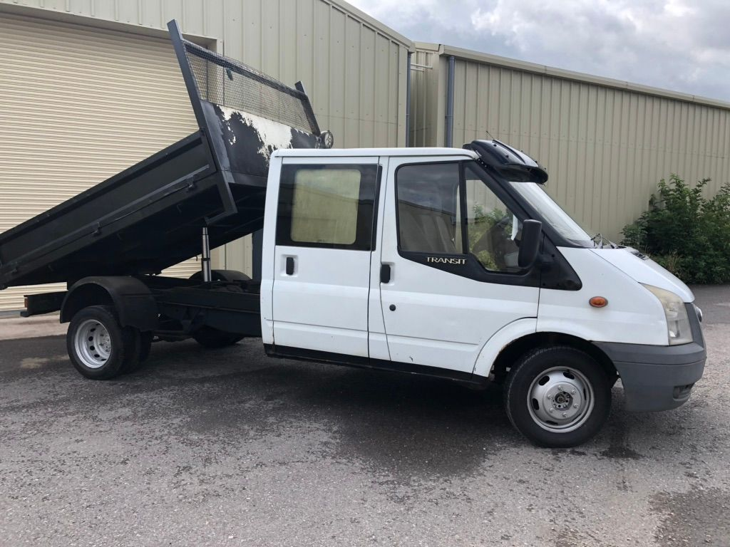 FORD TRANSIT Chassis Cab 2.4 TDCi Duratorq 350 EF Crewcab Chassis 4dr (DRW, Extended Frame)