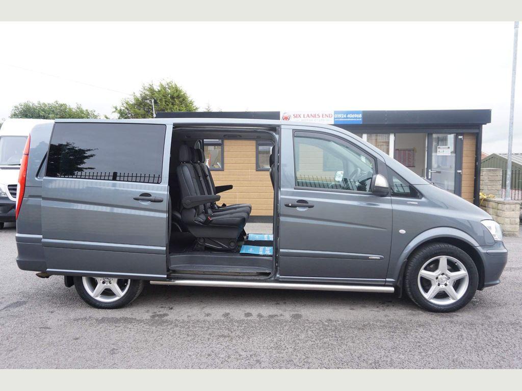 Mercedes-Benz Vito Combi Van 2.1 CDI Dualiner Combi Van 5dr (5 Seats)