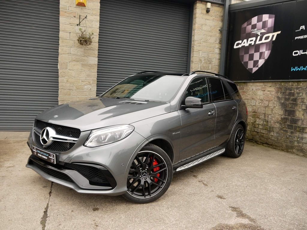 Mercedes-Benz GLE Class SUV 5.5 GLE63 V8 AMG S Night Edition SpdS+7GT 4MATIC (s/s) 5dr
