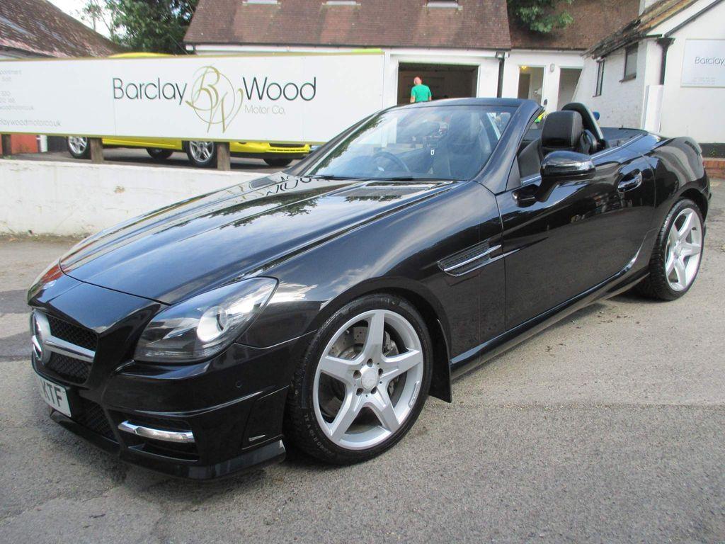 Mercedes-Benz SLK Convertible 2.1 SLK250 CDI BlueEFFICIENCY AMG Sport 7G-Tronic Plus 2dr
