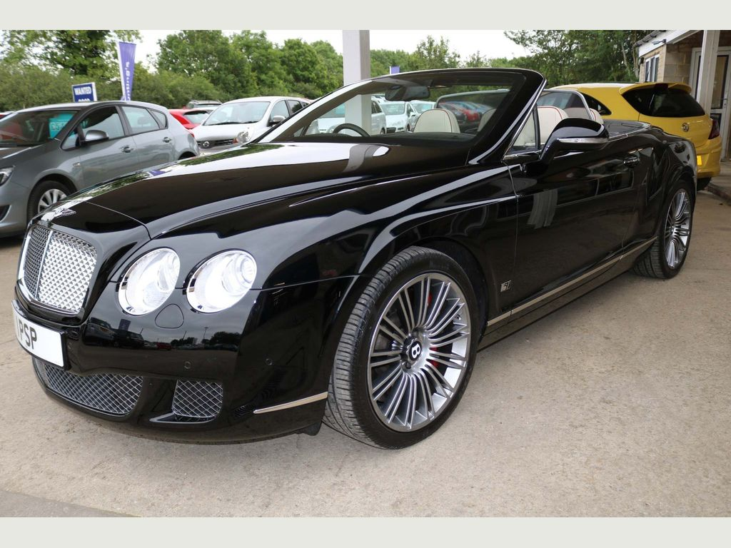 BENTLEY CONTINENTAL Convertible 6.0 W12 GTC Speed Auto 4WD 2dr
