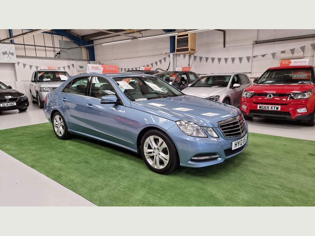 Mercedes-Benz E Class Saloon 3.0 E350 CDI BlueEFFICIENCY Avantgarde Edition 125 G-Tronic 4dr