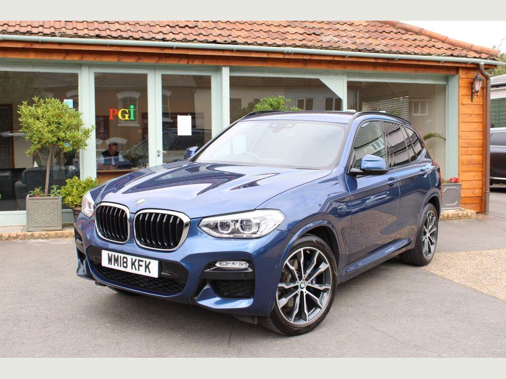 BMW X3 SUV 2.0 20i M Sport Auto xDrive (s/s) 5dr