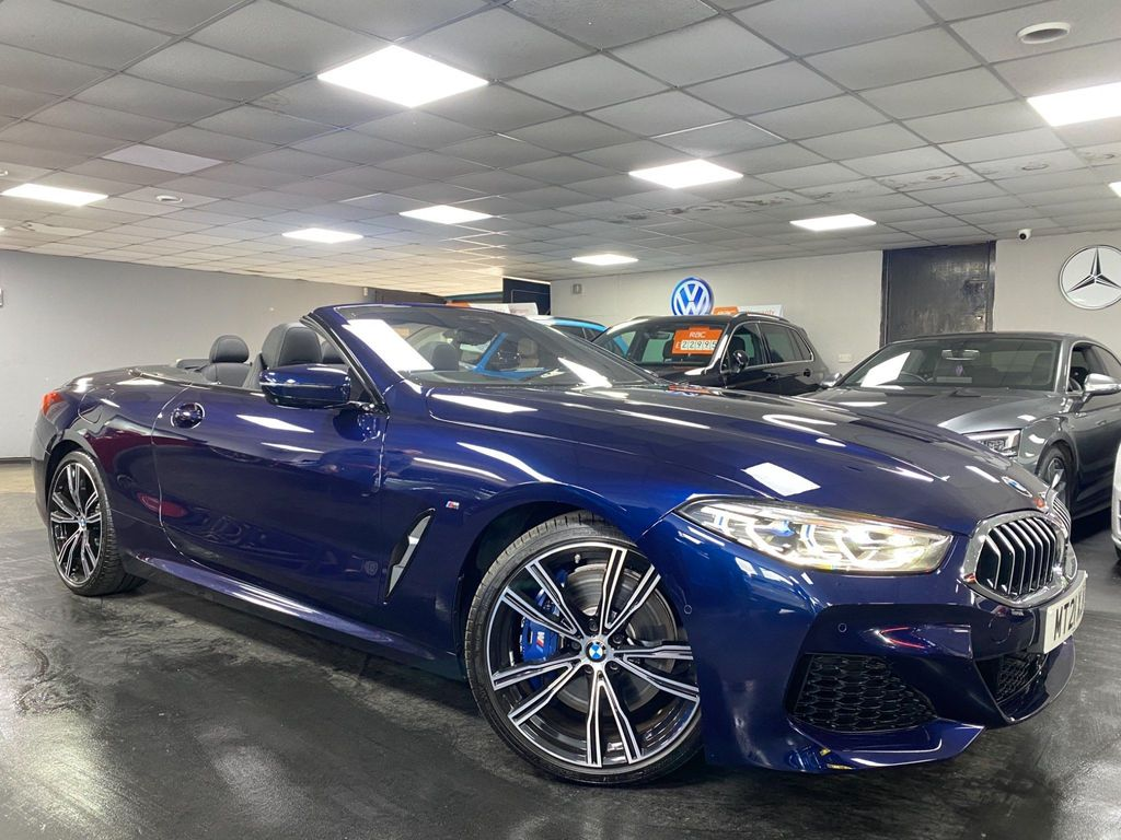 BMW 8 Series Convertible 3.0 840i Steptronic (s/s) 2dr