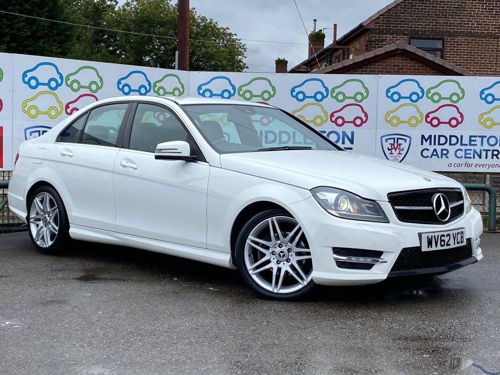 Mercedes-Benz C Class Saloon 2.1 C250 CDI BlueEFFICIENCY AMG Sport Plus 7G-Tronic Plus 4dr