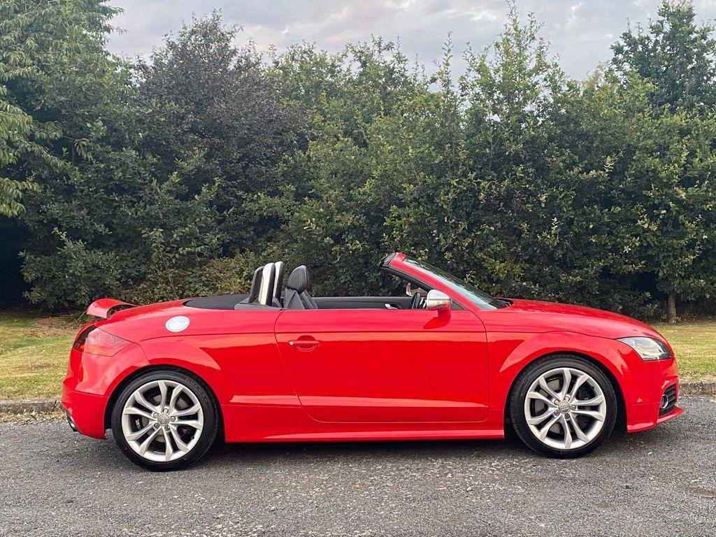 Audi TTS Convertible 2.0 TFSI Roadster S Tronic quattro 2dr