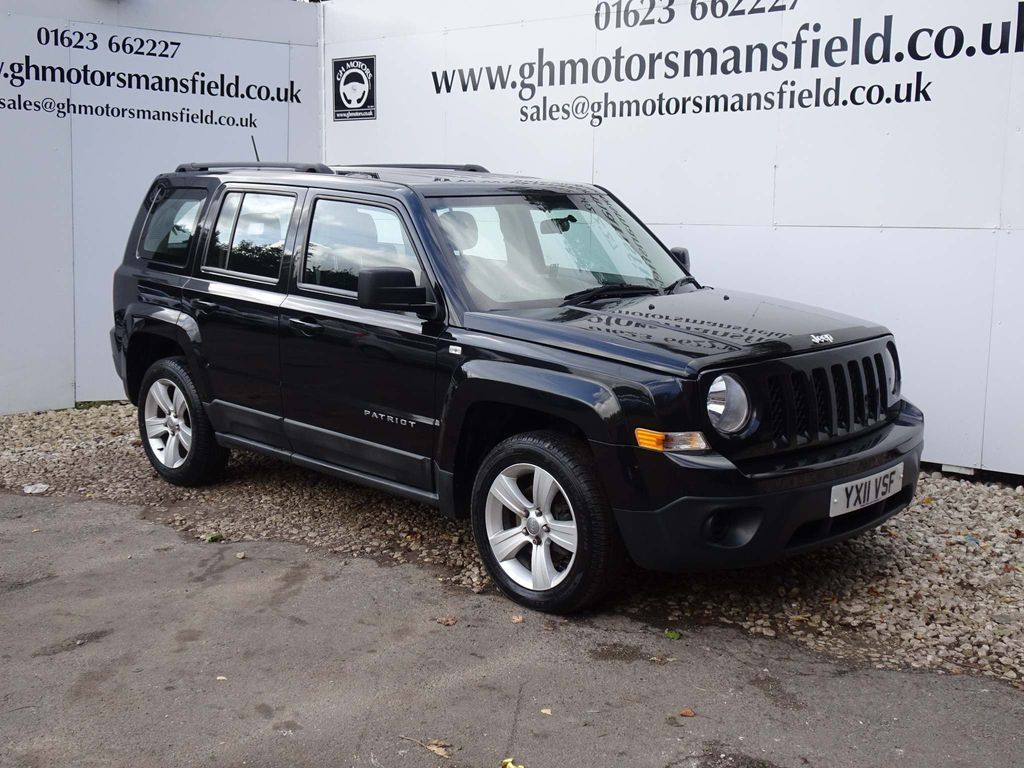 JEEP PATRIOT SUV 2.2 CRD Sport 4x4 5dr
